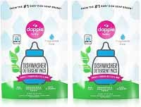 DAPPLE Dishwasher Detergent For Baby Bottles and Toys