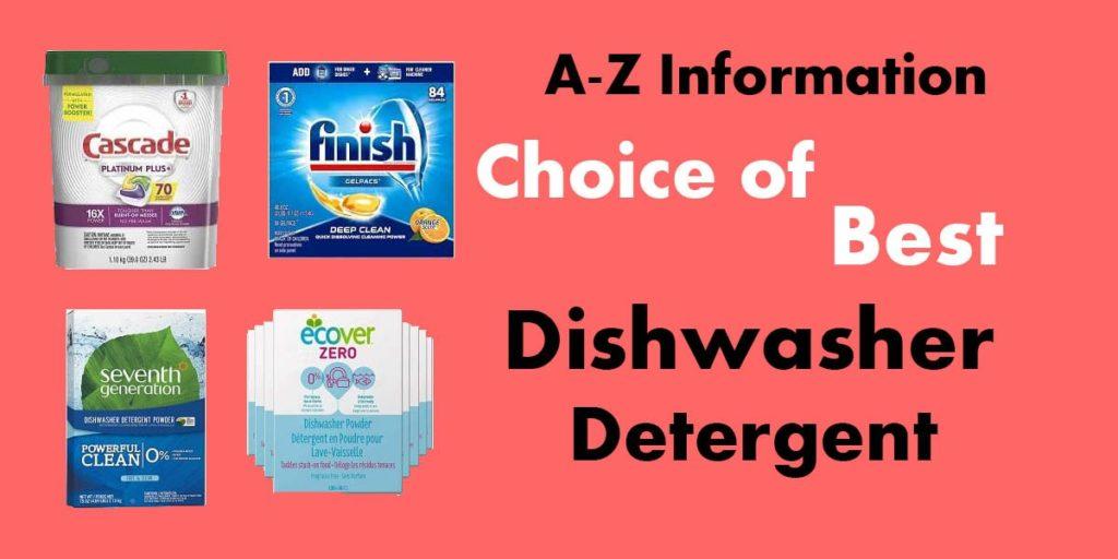 The Best Dishwasher Detergent